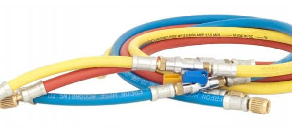 """Węże do ładowania klimatyzacji HVAC 1/4"""" SAE (R422, R407, R134)"""