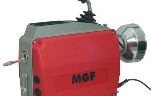 Maszyna do sprężynowego odblokowywania rur serii MDM150 marki MGF