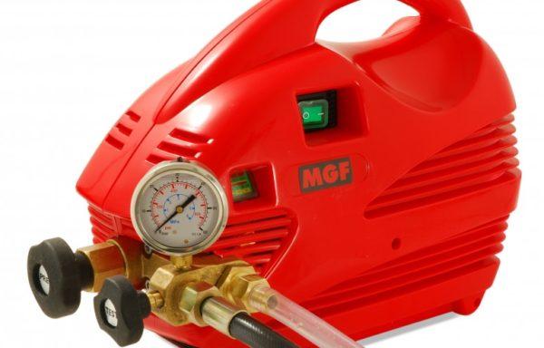 Elektryczna pompa do badania ciśnienia Press marki MGF próby kontrolne do 60 bar
