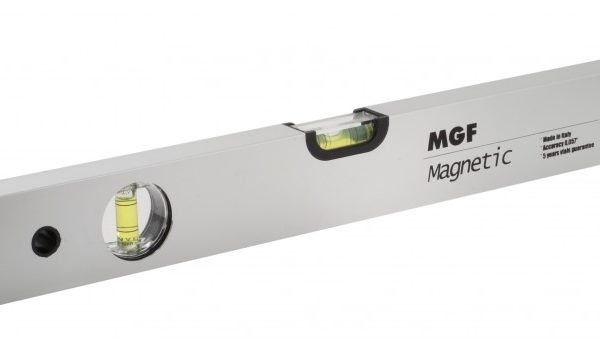 Poziomica aluminiowa z magenesm marki MGF seria Magnetic