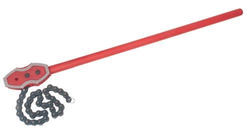 Łańcuchowy klucz do rur do dużych obciążeń