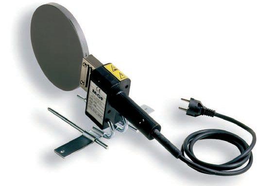 Element grzewczy Ø 180 – 280 mm do rur z tworzyw sztucznych