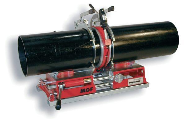 Zgrzewarka doczołowa do rur z tworzyw sztucznych do 250 mm serii Dedalo 250 firmy MGF