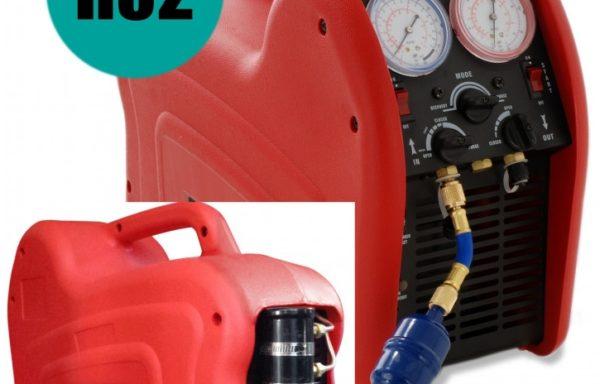 Urządzenie do odzyskiwania i recyklingu gazu chłodniczego