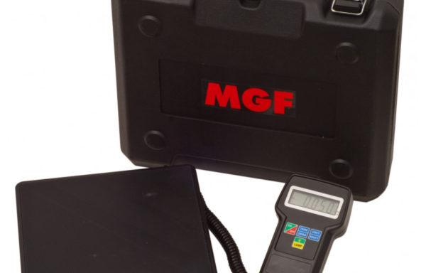 Elektroniczna waga czynnika chłodniczego marki MGF serii MAXI 220