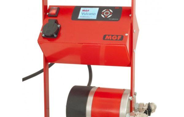 MGF Vulcano Mobilny podgrzewacz jastrychu betonowego i tester ciśnienia