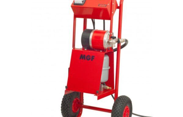 MGF Vulcano PRINT Suszenie i testowanie jastrychu betonowego z raportowaniem